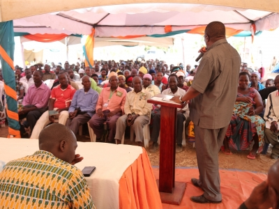 Kijiji Biashara Trade Fair renews hope for increased productivity and profitability for farmers in Mondo and Mwendakulima wards